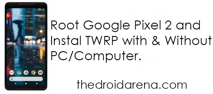 Root-Google-Pixel-2-and-Install-TWRP-Recovery