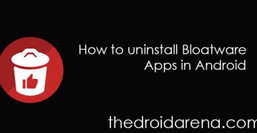 Uninstall Bloatware App in Android