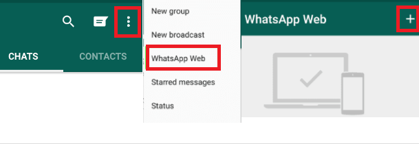 Enable WhatsApp Web