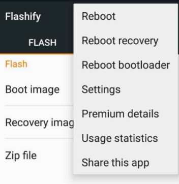 Install ClockworkMod Recovery using Flashify