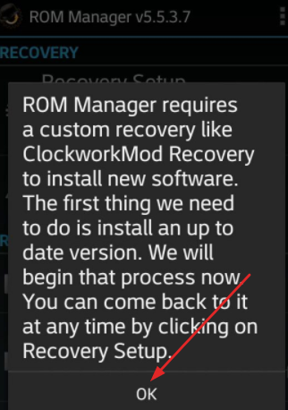 Install ROM Manager on Your Android Device