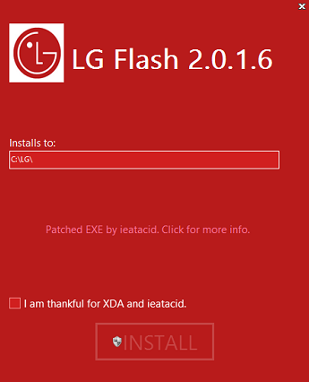 Download LGUP Tool