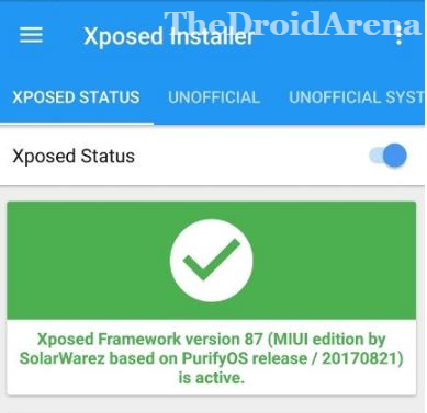 Download & Install Xposed Framework for MIUI 9 / MIUI 10