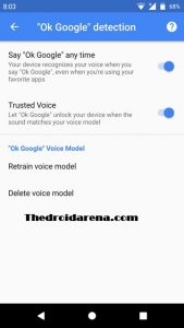 How to Unlock your Android Device Using Google Assistant - Step 5