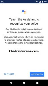 How to Unlock your Android Device Using Google Assistant - Step 6