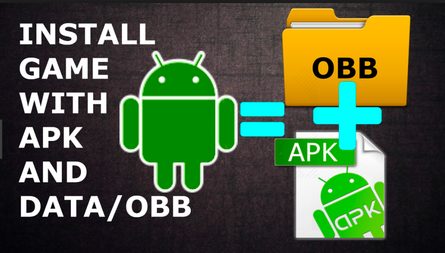 Install Apk file with OBB & Data Files on Android
