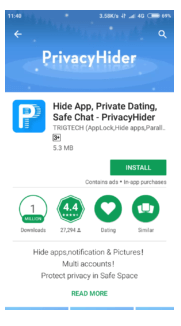 Hide Apps With Private Me App Android