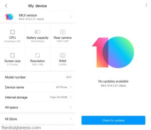 How-To] Install MIUI 10 China Beta ROM in Redmi Note 4