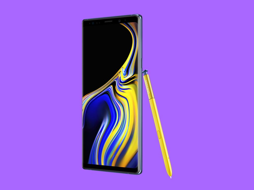 Samsung Galaxy Note 9 download recovery mode