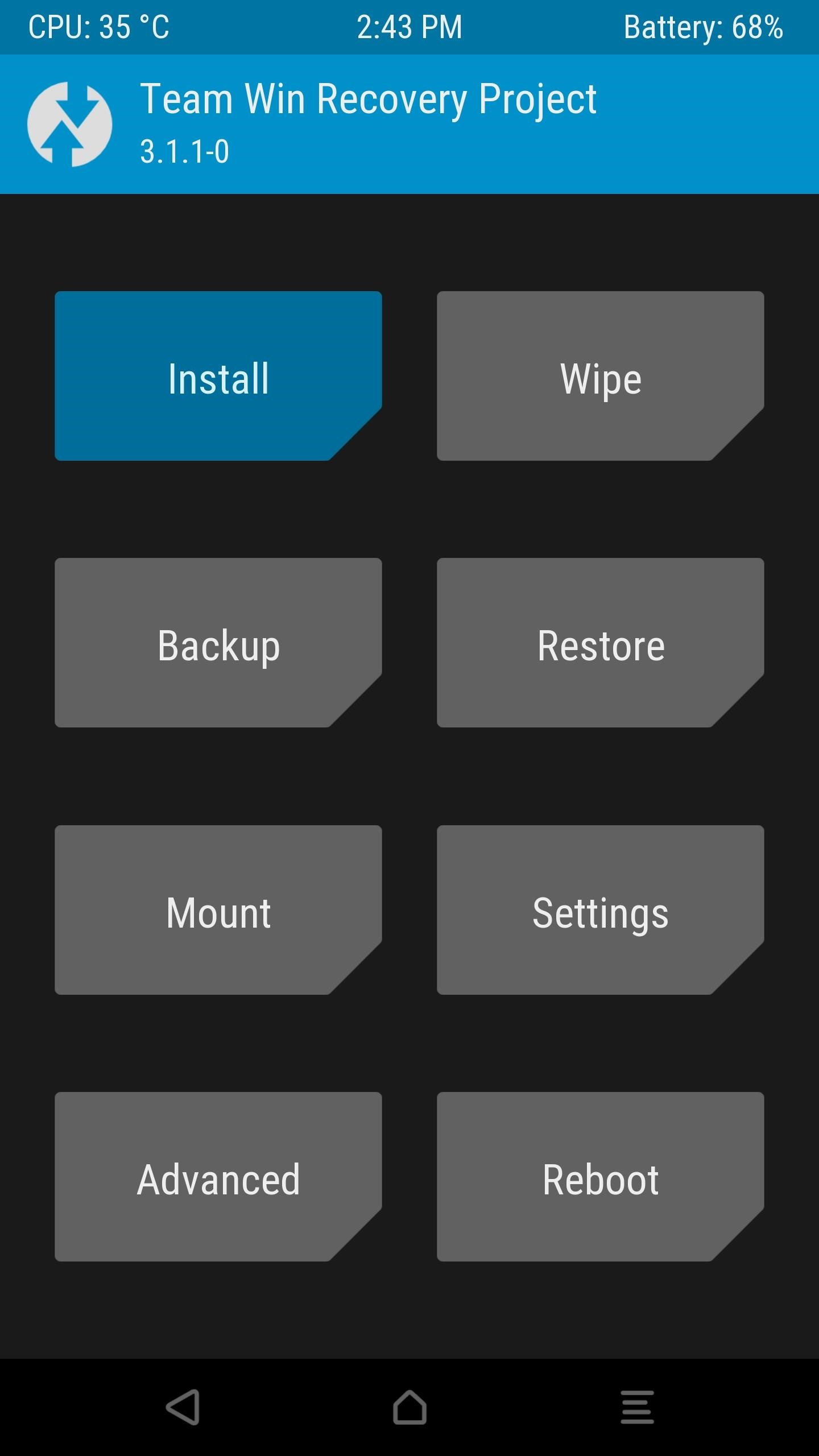 How to install TWRP recovery and root motorola one