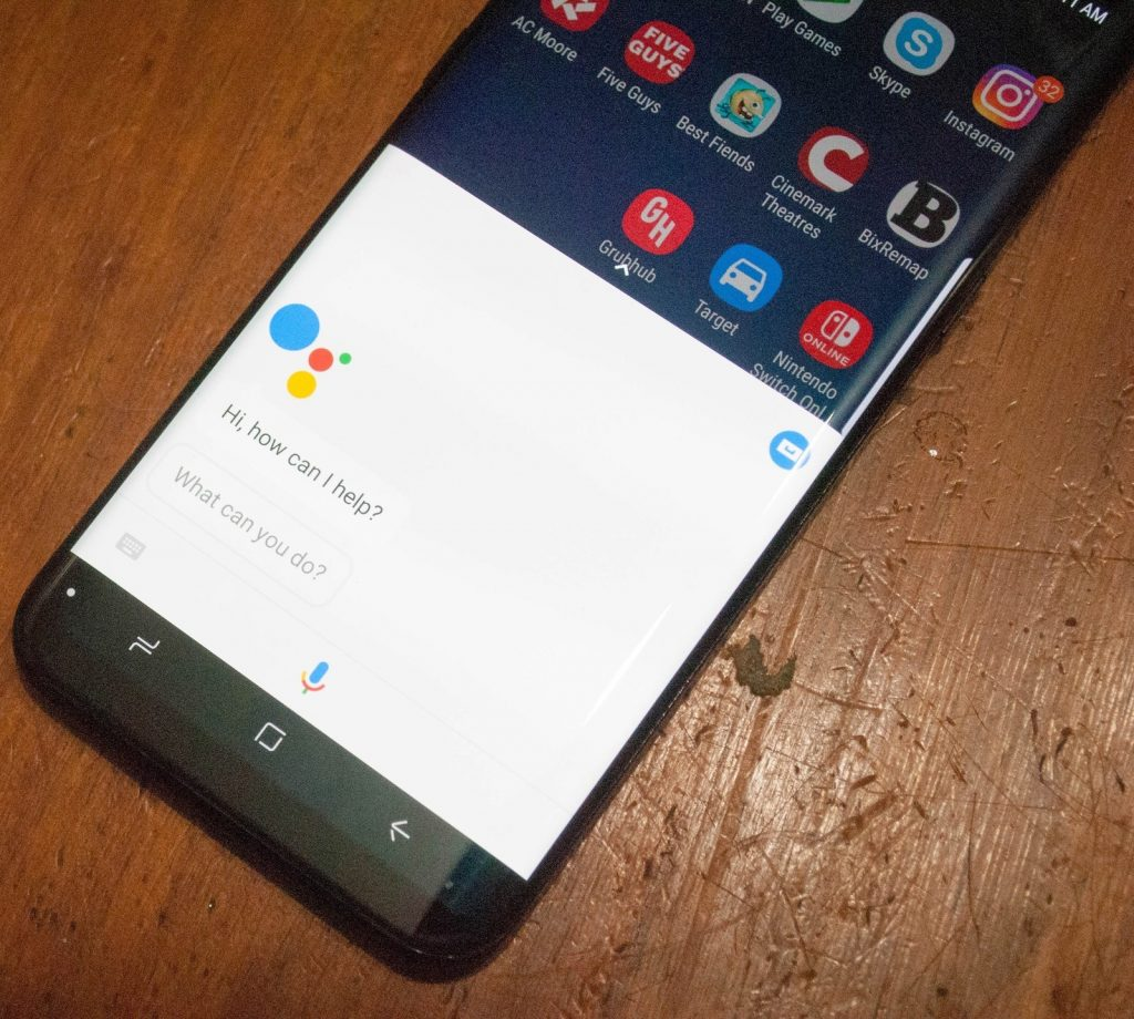 How to take a screenshot on the Samsung Galaxy Note 9 using Google assistant