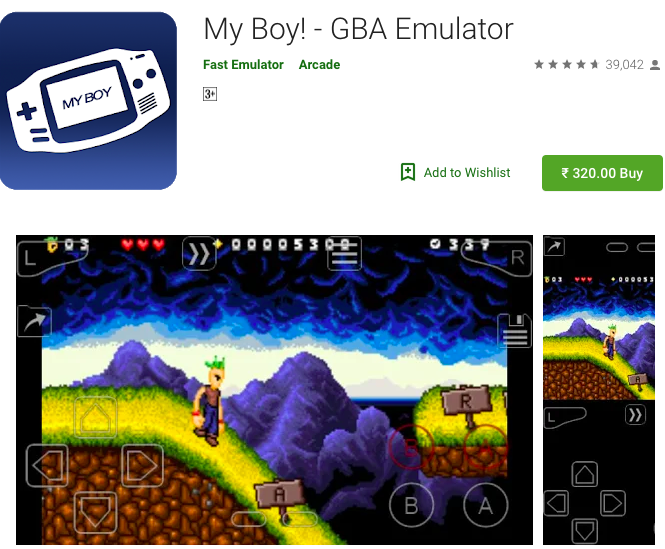 My Boy - Best GBA Emulator on Android latest