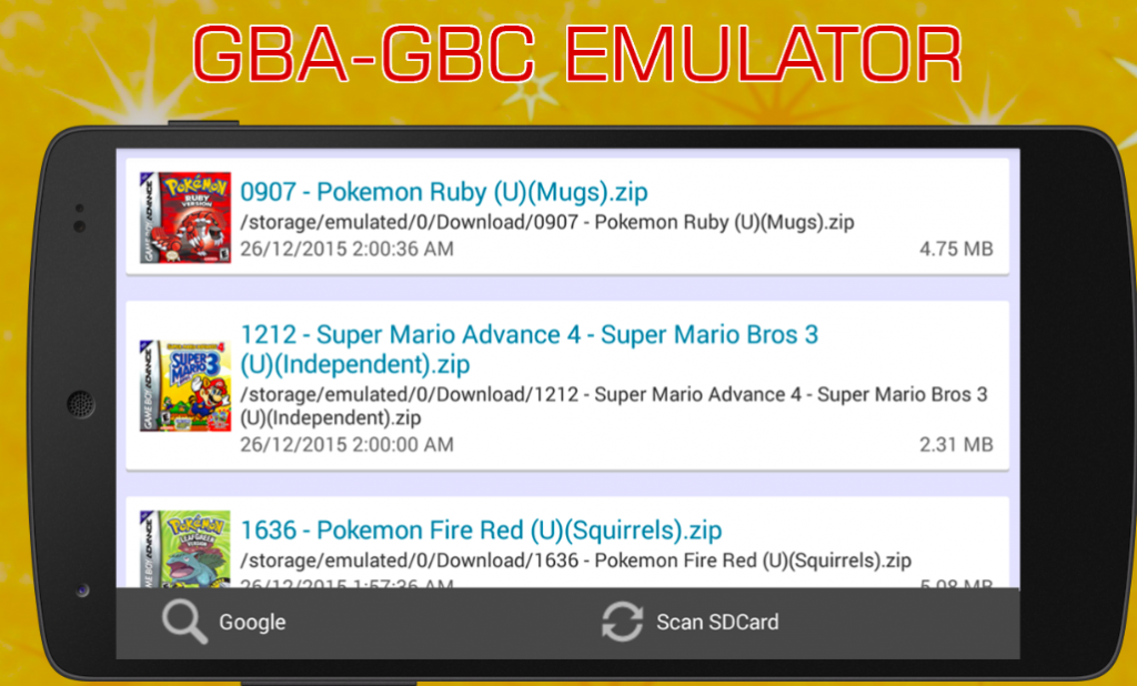 VinaBoy Advance - Best GBA Emulator