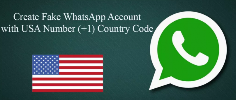Create a Whatsapp Account With Fake US Number