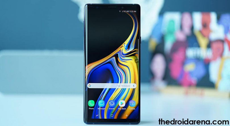 boot samsung galaxy note 9 into recovery mode