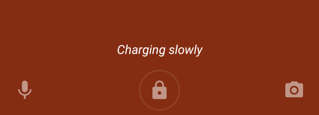 Charging problem on Android Pie