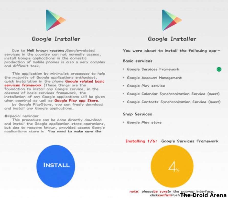 Download & Install Google Play Store on Huawei Chinese Smartphones