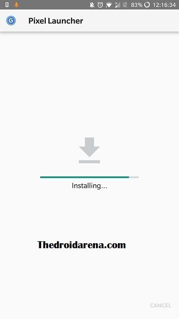 Install Pixel 3 Launcher