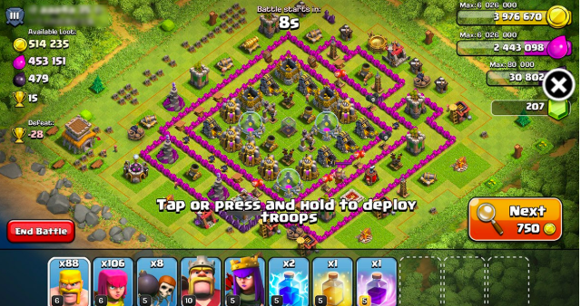 XModGames Clash of Clans Game APK
