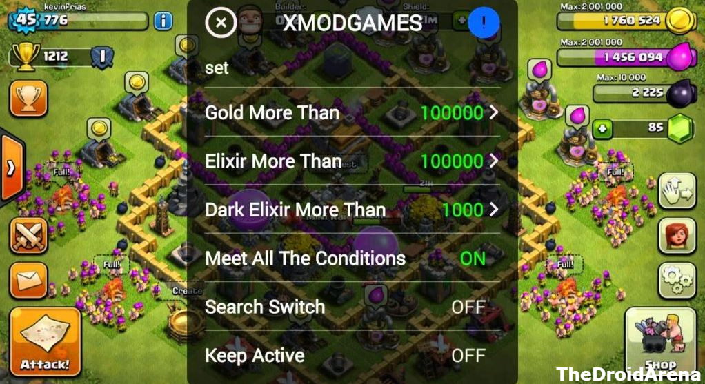 Xmodgames Hack Clash Of Clans Coc Using Xmodgames Apk