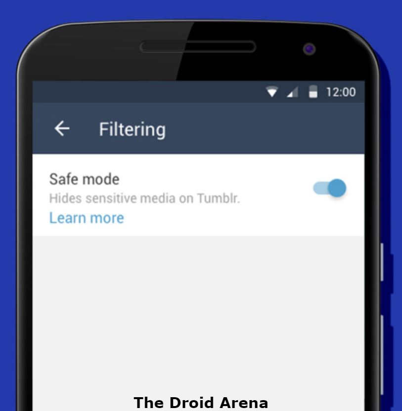 How To Turn Off Safe Mode on Tumblr from Android [Complete