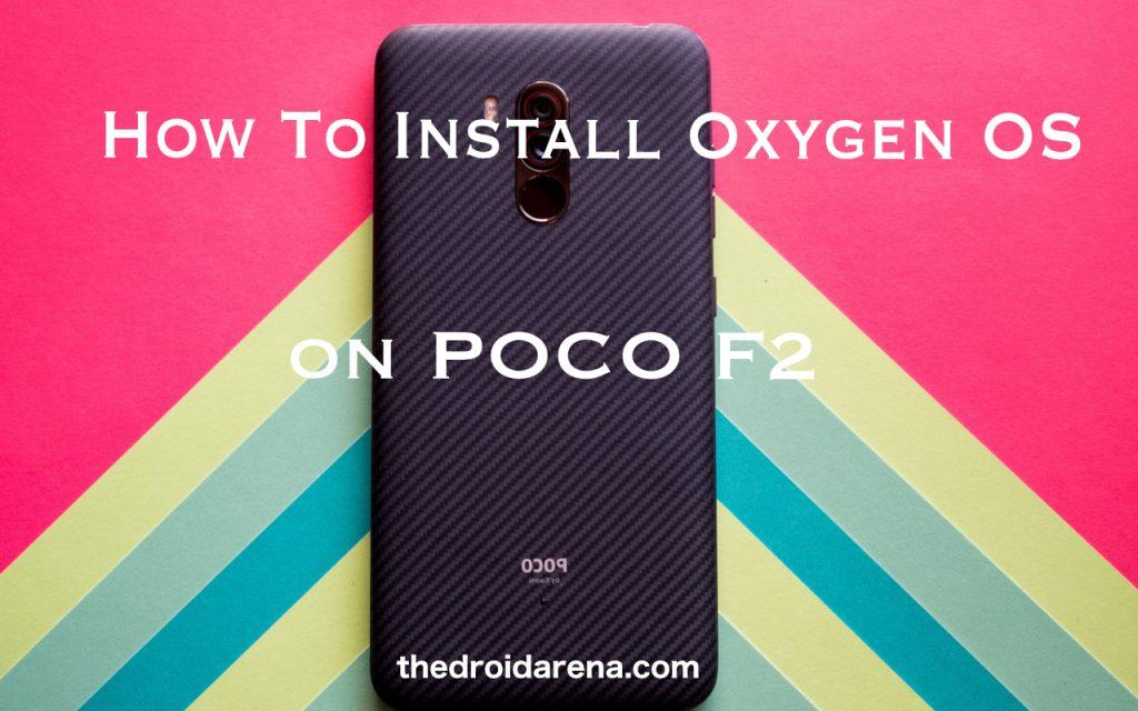 Oxygen OS on poco f2